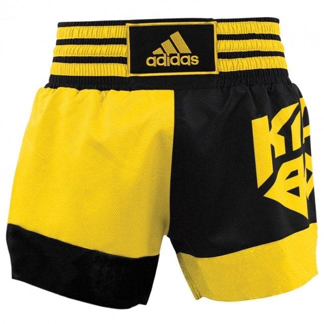 Adidas Kickboksshort Skb02 ZwartShock Yellow